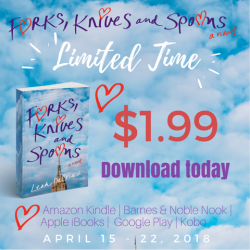 Forks, Knives & Spoons by Leah DeCesare is ONE YEAR OLD!