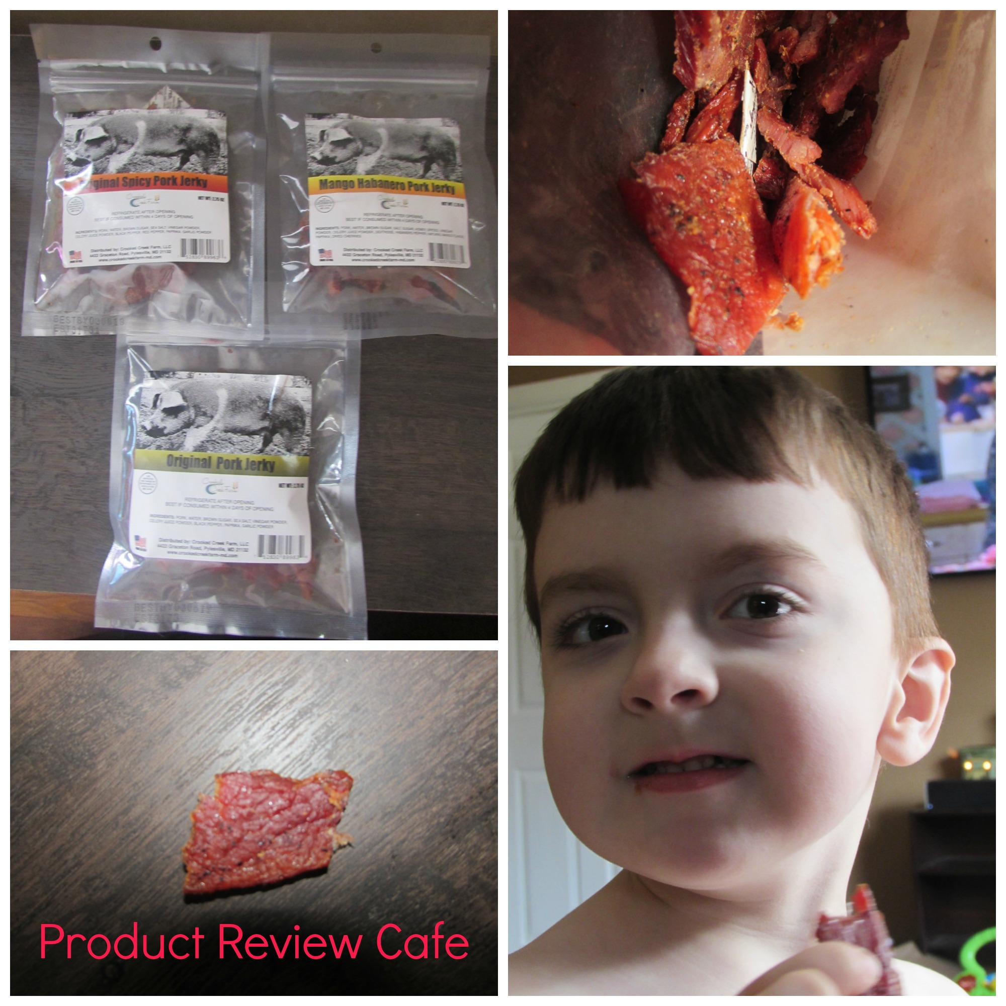 Crooked Creek Farm Country Store Pork Jerky
