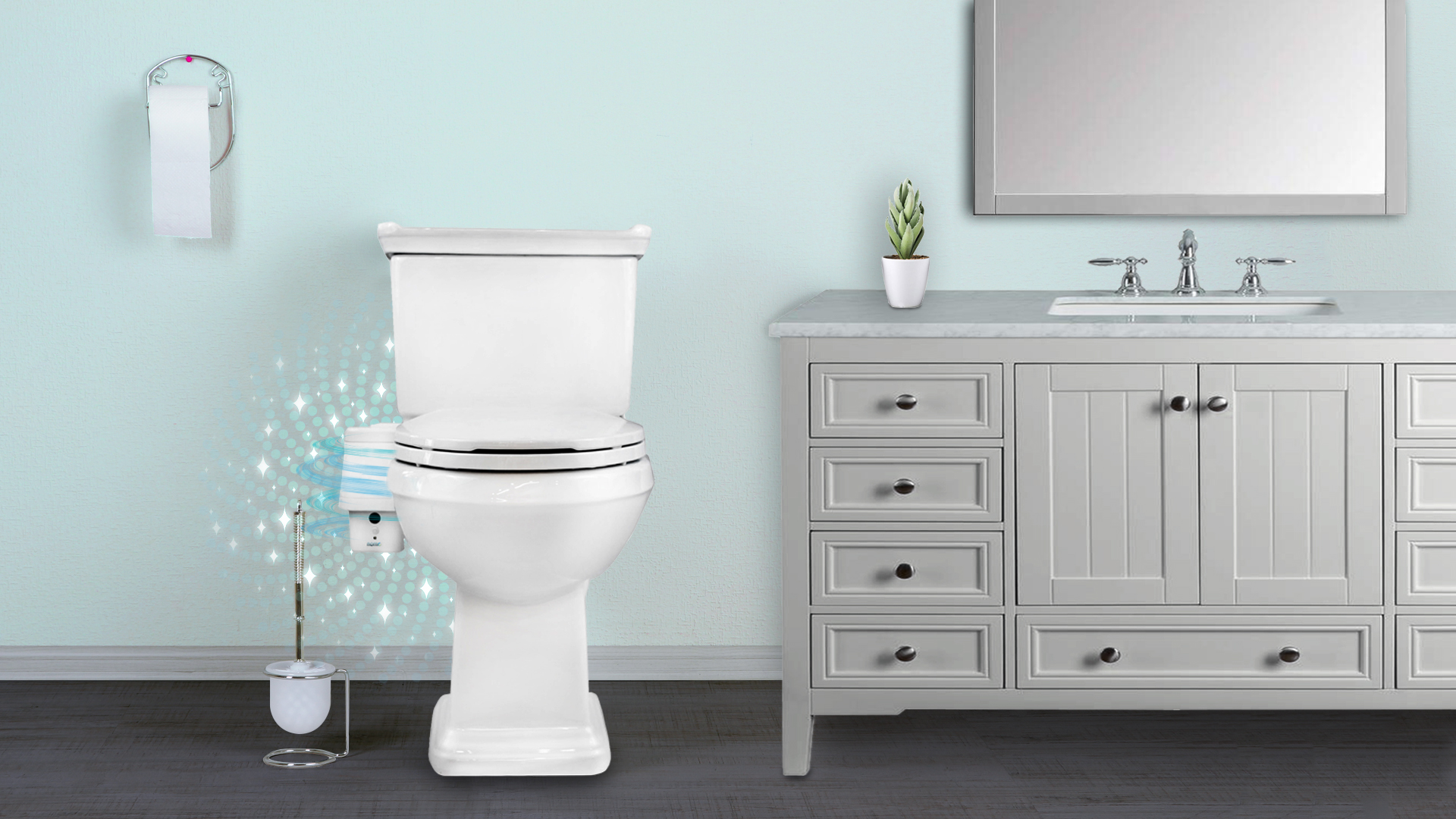 Get Rid of Bathroom Odors with NoMo