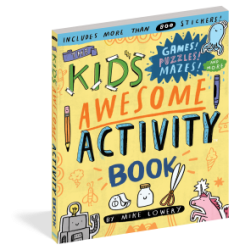 The Kid's Awesome Activity Book by Mike Lowery