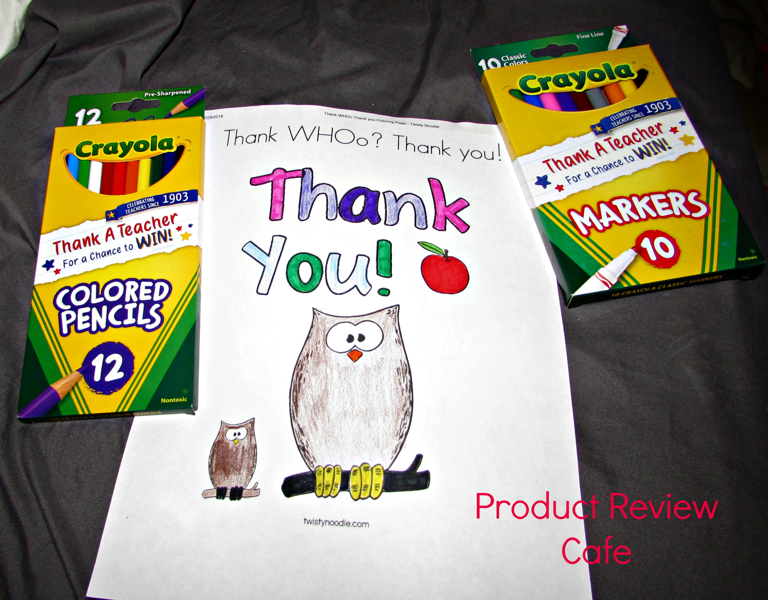 Crayola Helps us Thank a Teacher + Contest Info