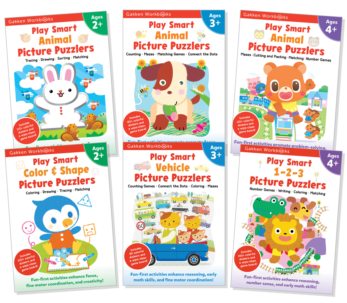 Summer Learning with Gakken Play Smart Workbooks
