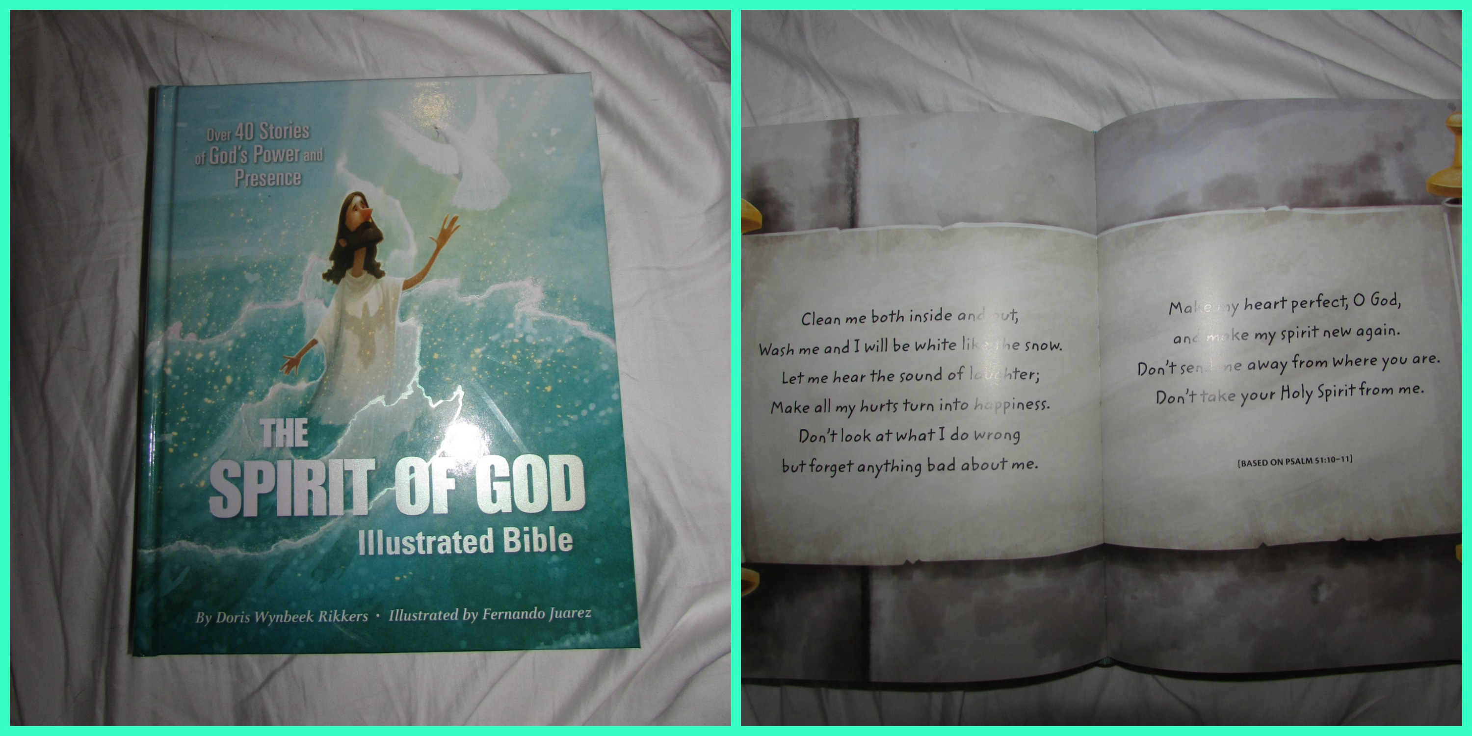 Spirit of God Illustrated Bible