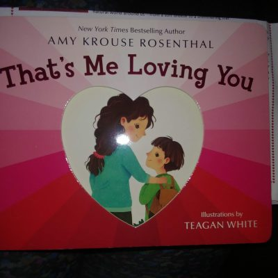 That's Me Loving You Children's Book Review