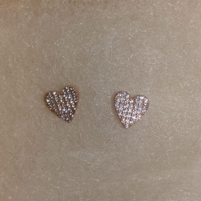 Chloe & Isabel Petits Bijoux Heart Stud Earrings