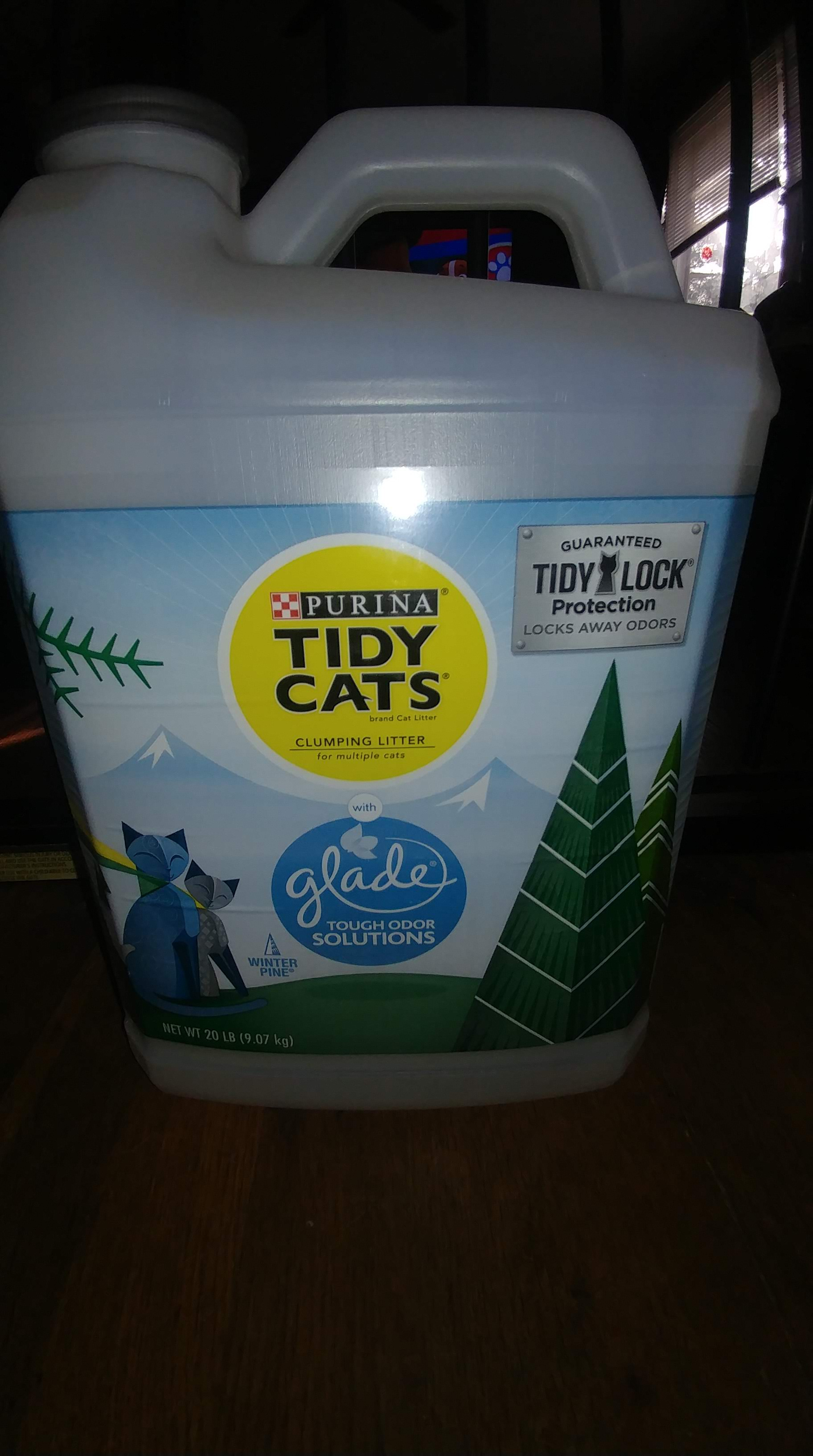 Tidy Cats Glade Winter Pine #ChewyInfluencers