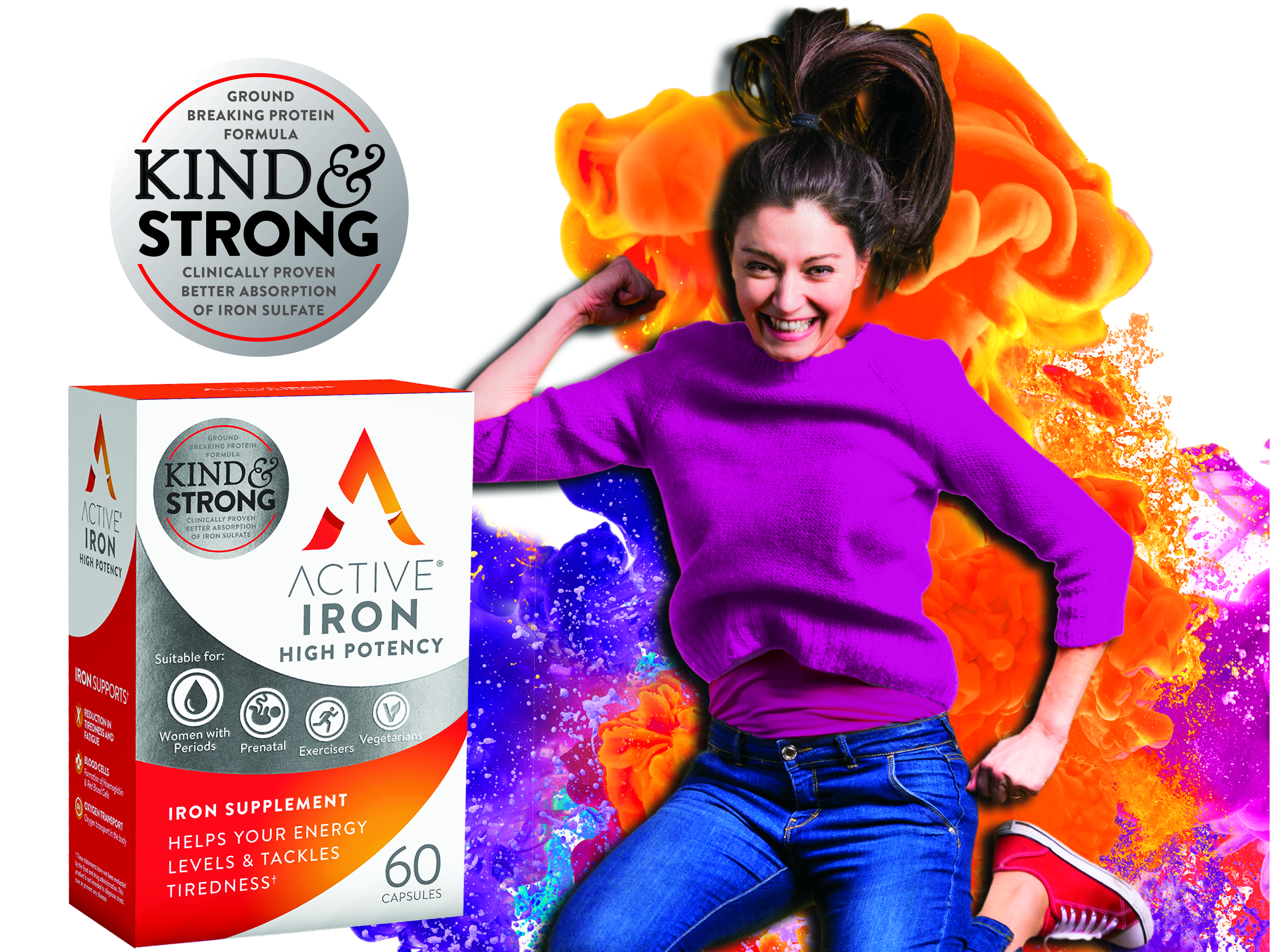 Active Iron High Potency Iron Supplement