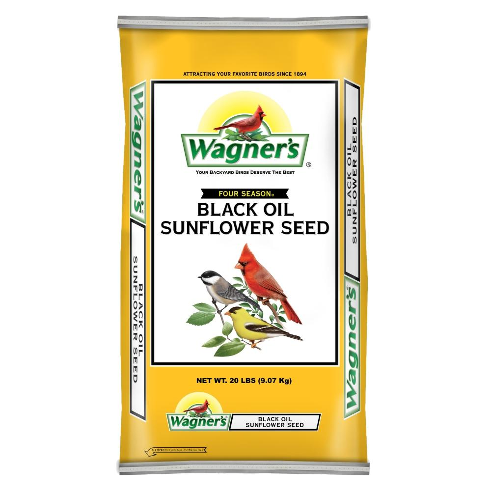 Wagner's Four Season 100% Black Oil Sunflower Seed #ChewyInfluencer