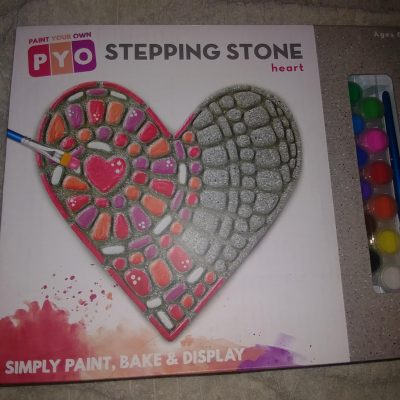 MindWare Paint Your Own Stepping Stone: Heart