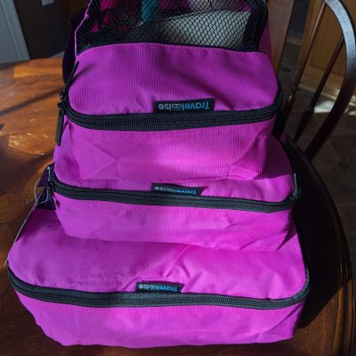 Travelwise Packing Cube System Review by EatSmart Products