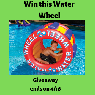 Win a Water Wheel!