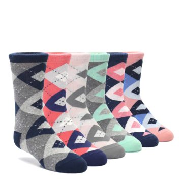 boldSOCKS Junior Argyle Kid's Sock Collection