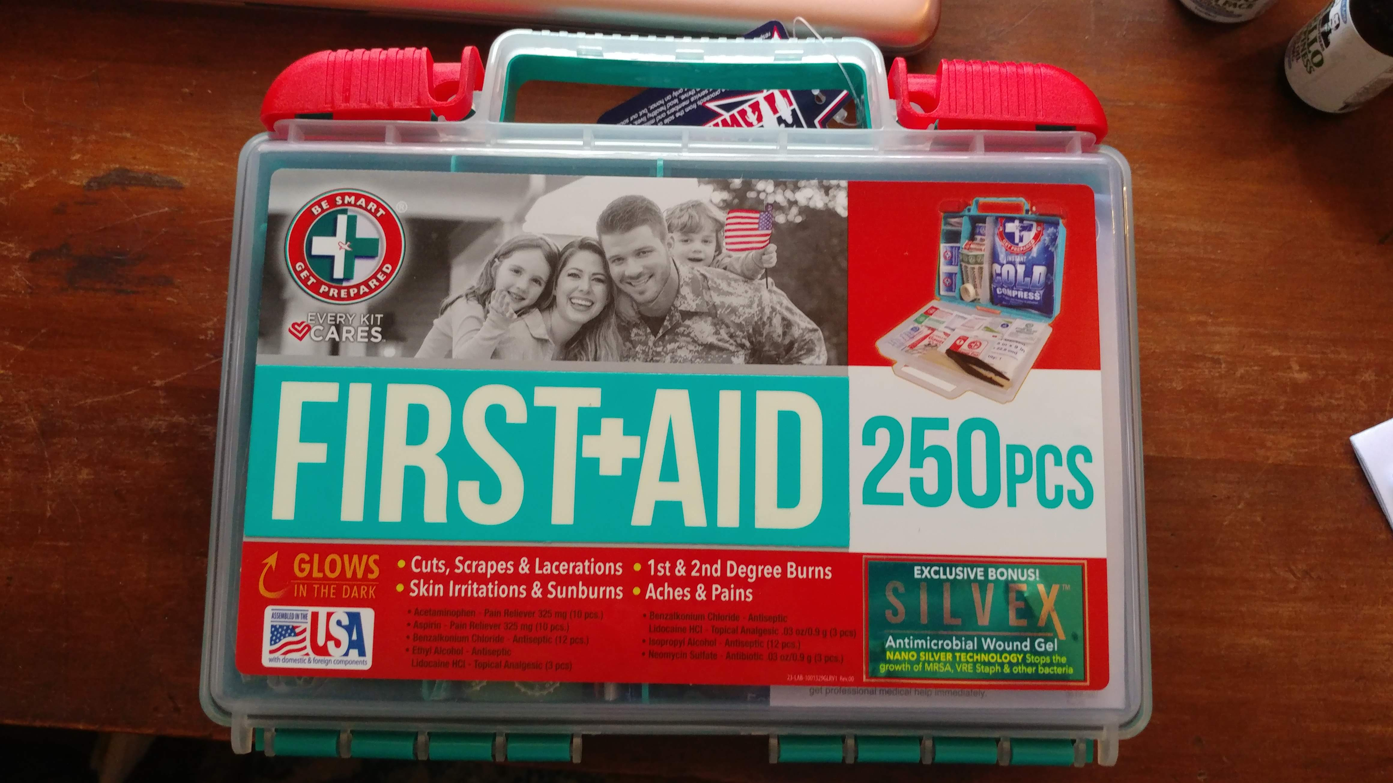 Be Smart, Get Prepared First Aid Kits