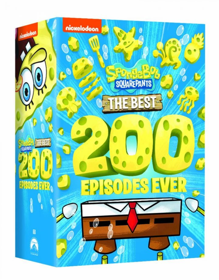 SPONGEBOB SQUAREPANTS: THE BEST 200 EPISODES EVER! on Prime Day