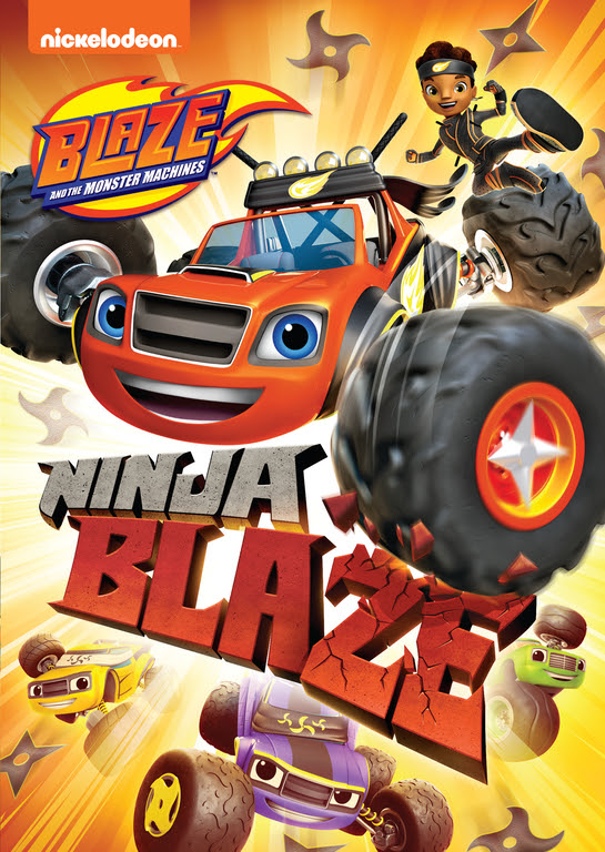 BLAZE AND THE MONSTER MACHINES: NINJA BLAZE Coming 8/27