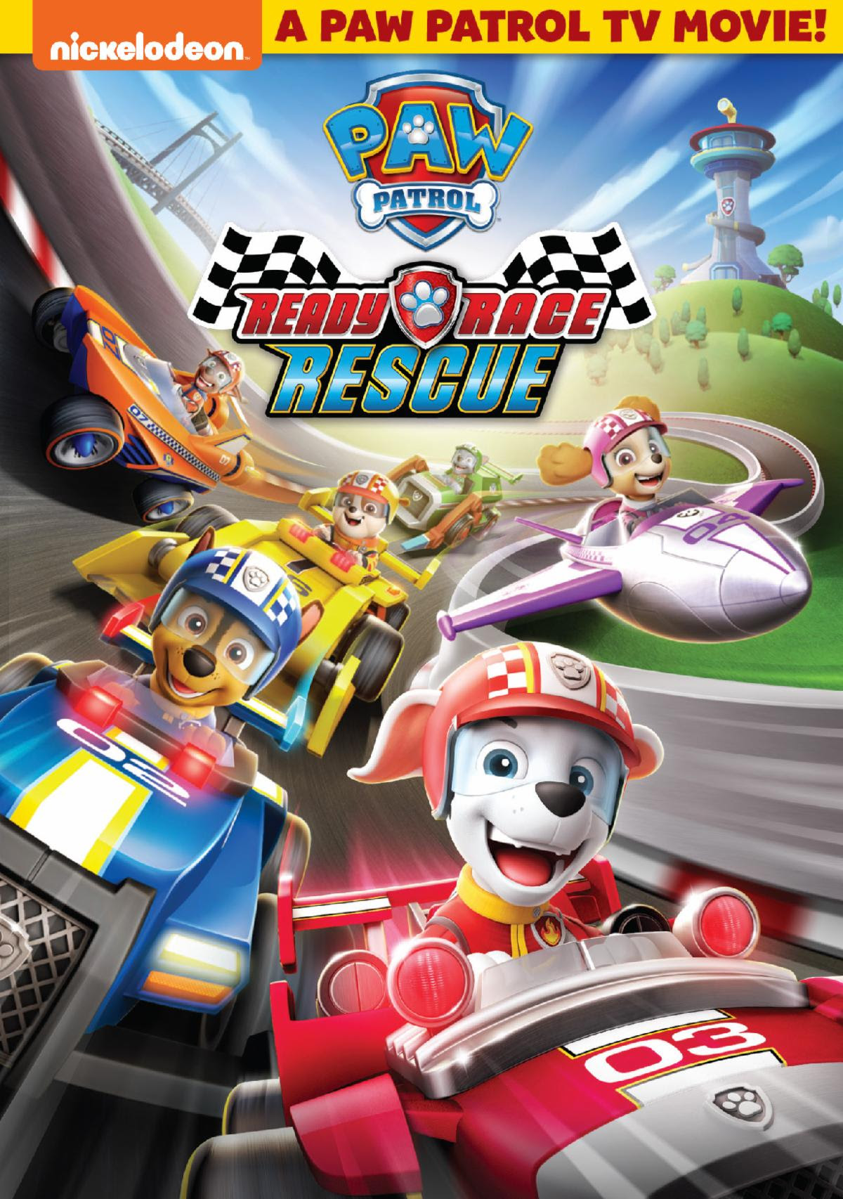 PAW Patrol: Ready, Race, Rescue Exclusively at Wal-Mart September 3