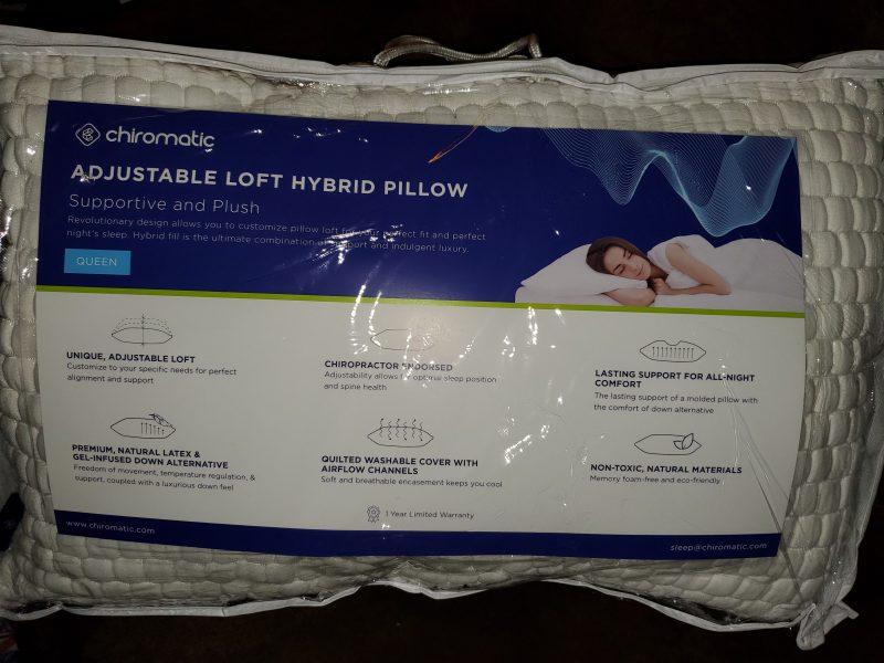 Chiromatic Pillow