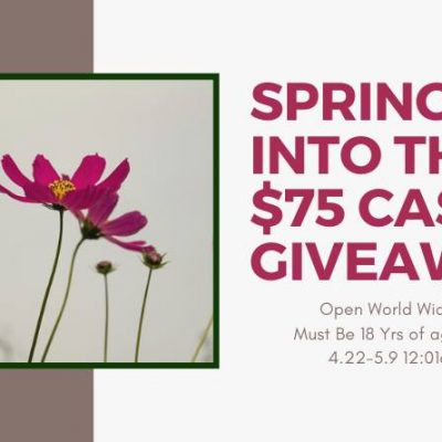 Spring Into This $75 Paypal Cash Giveaway