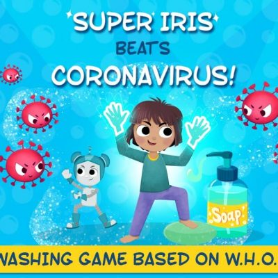 Help Kids Learn Proper Handwashing while Playing a Game