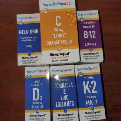 Superior Source Vitamins PLUS a Giveaway!